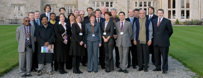 group of  business people in Leitrim
